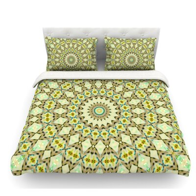 Kaleidoscope by Iris Lehnhardt Geometric Featherweight Duvet Cover Size: Twin