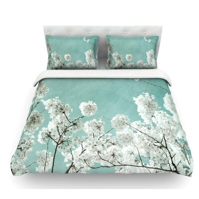 Flowering Season by Iris Lehnhardt Featherweight Duvet Cover Size: Queen