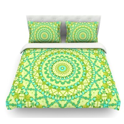 Aquatic Garden by Iris Lehnhardt Featherweight Duvet Cover Size: King