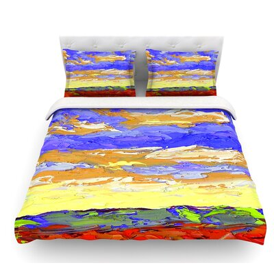 After the Storm by Jeff Ferst Featherweight Duvet Cover Size: Queen