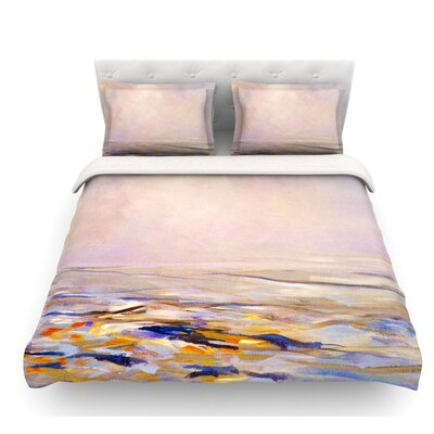 Hazy Sunrise by Iris Lehnhardt Featherweight Duvet Cover Size: Twin