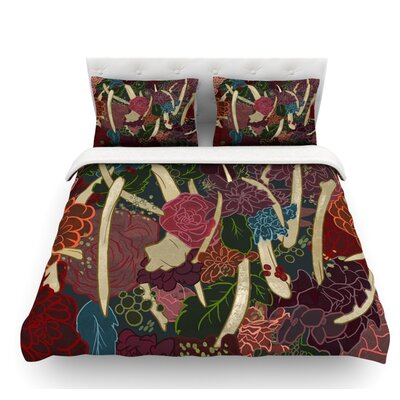 New Life by Jaidyn Erickson Flowers Featherweight Duvet Cover Size: King