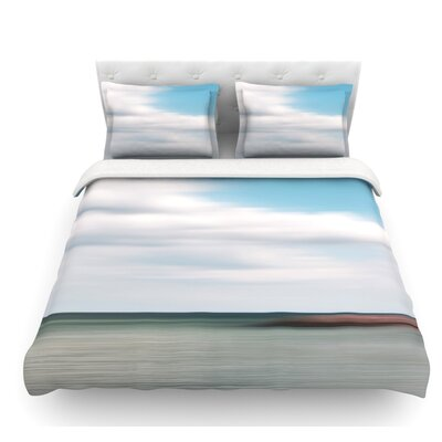 June Beach by Iris Lehnhardt Featherweight Duvet Cover Size: Queen