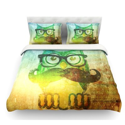 Howly by iRuz33 Featherweight Duvet Cover Size: Twin