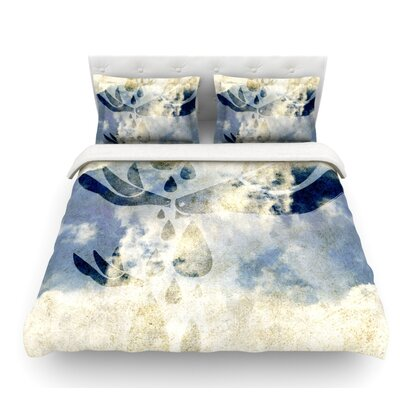 Doves Cry by iRuz33 Featherweight Duvet Cover Size: Queen