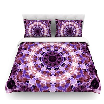 Mandala III by Iris Lehnhardt Featherweight Duvet Cover Size: King