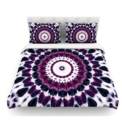 Batik by Iris Lehnhardt Geometric Featherweight Duvet Cover Size: Queen
