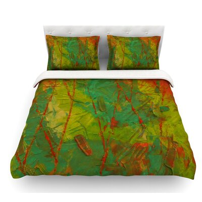 Evergreens by Jeff Ferst Featherweight Duvet Cover Size: Queen
