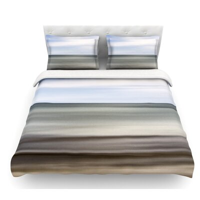 Abstract Beach by Iris Lehnhardt Featherweight Duvet Cover Size: King