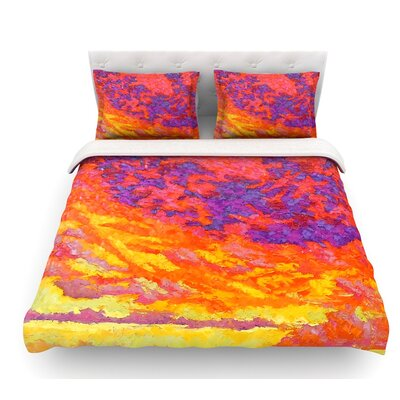 View From the Foothills by Jeff Ferst Featherweight Duvet Cover Size: Queen