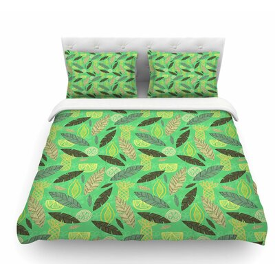 Tropical Fruits by Jane Smith Featherweight Duvet Cover Size: Queen