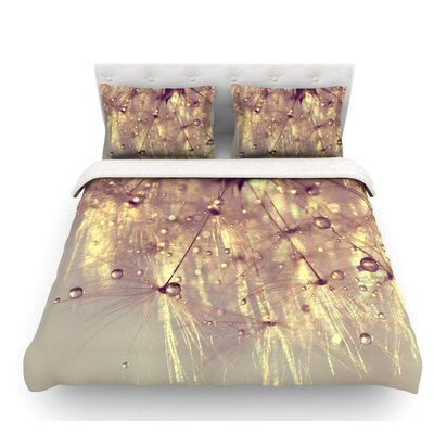 Sparkles by Ingrid Beddoes Featherweight Duvet Cover Size: Twin