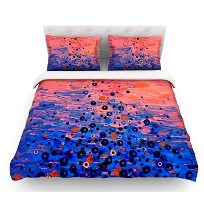 What Goes Up by Ebi Emporium Featherweight Duvet Cover Size: Queen