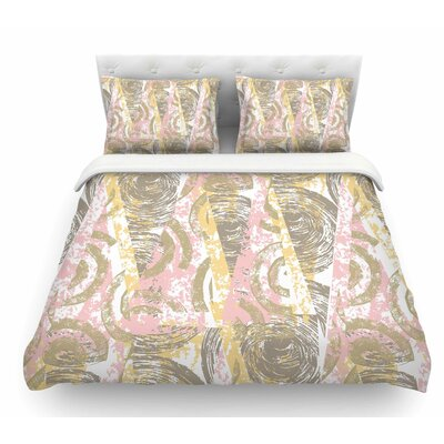 Scrubs by Chickaprint Featherweight Duvet Cover Size: Queen