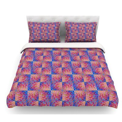 Splash Revisited by Ebi Emporium Featherweight Duvet Cover Size: King