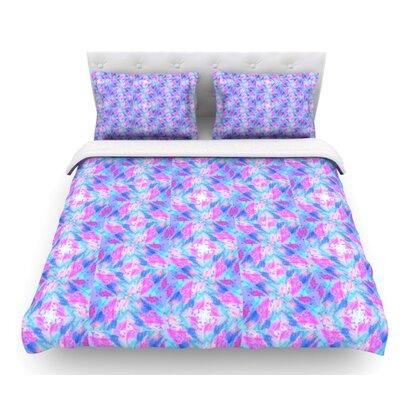 Seeing Stars by Ebi Emporium Featherweight Duvet Cover Size: King