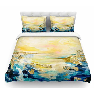 The Reverie by Ebi Emporium Featherweight Duvet Cover Size: Twin
