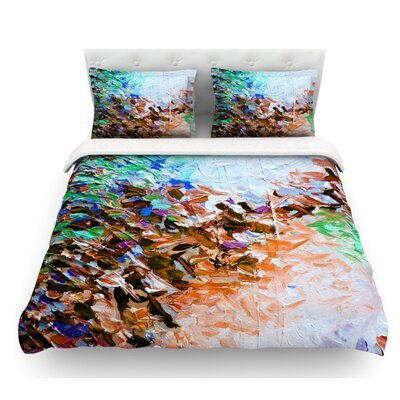 Winter Retreat by Ebi Emporium Featherweight Duvet Cover Size: Queen