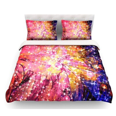 Out There by Ebi Emporium Featherweight Duvet Cover Size: Queen, Fabric: Lightweight Polyester