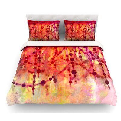 Prismacolor Pearls by Ebi Emporium Featherweight Duvet Cover Size: King