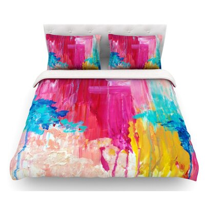Elated by Ebi Emporium Featherweight Duvet Cover Size: Queen, Fabric: Woven Polyester