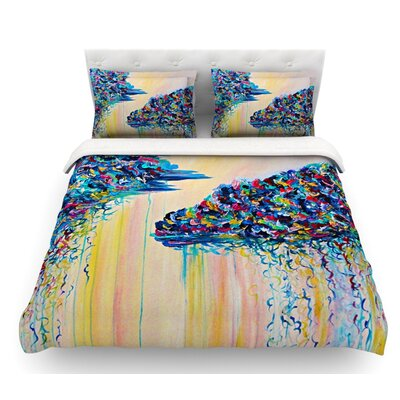 Linings by Ebi Emporium Featherweight Duvet Cover Size: Queen