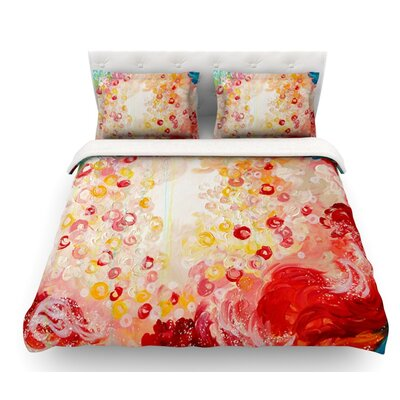 Summer Days by Ebi Emporium Featherweight Duvet Cover Size: Twin