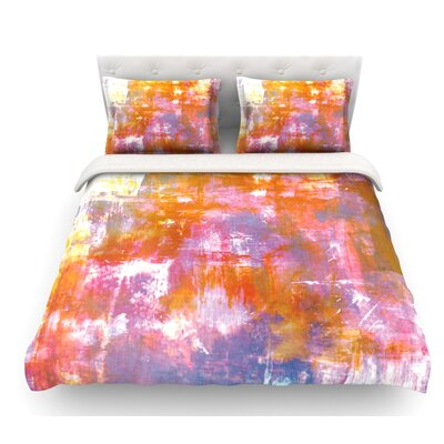 Off the Grid by Ebi Emporium Featherweight Duvet Cover Size: Twin, Color: Multi