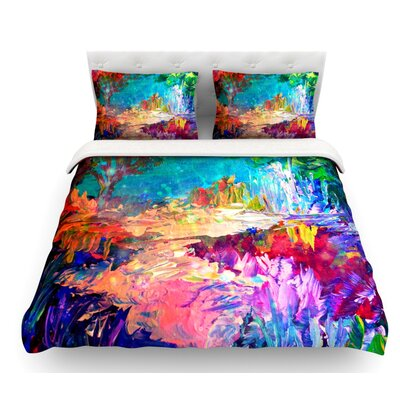 Welcome to Utopia by Ebi Emporium Featherweight Duvet Cover Size: King