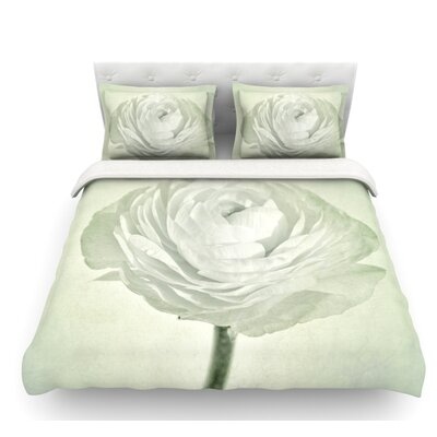 Whity by Iris Lehnhardt Floral Featherweight Duvet Cover Size: Twin