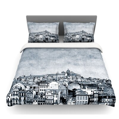 A Riberia by Ingrid Beddoes City Featherweight Duvet Cover Size: Twin