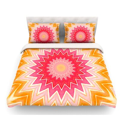 You are My Sunshine by Iris Lehnhardt Featherweight Duvet Cover Size: Queen