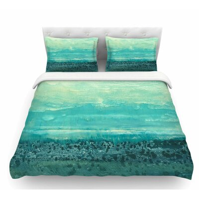 Oceanic by Iris Lehnhardt Featherweight Duvet Cover Size: Queen