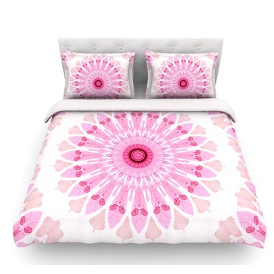 Flower Power by Iris Lehnhardt Abstract Featherweight Duvet Cover Size: Twin