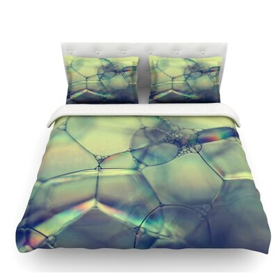 Bubblicious by Ingrid Beddoes Featherweight Duvet Cover Size: Queen