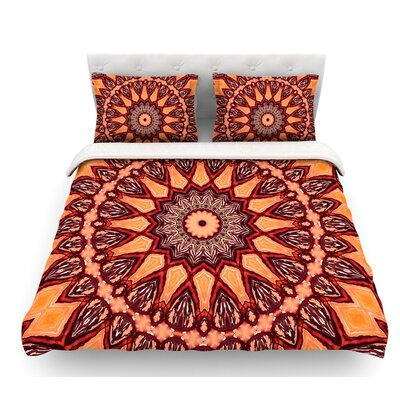 Colors of Africa by Iris Lehnhardt Featherweight Duvet Cover Size: Queen