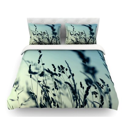 Cool Breeze by Ingrid Beddoes Featherweight Duvet Cover Size: Queen