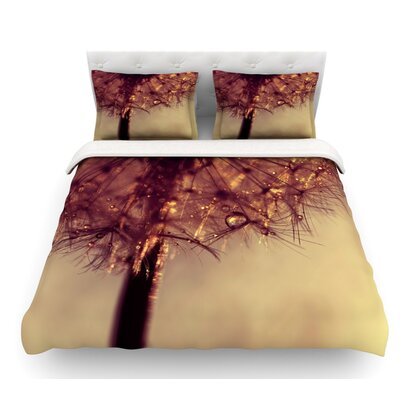 Droplets by Ingrid Beddoes Featherweight Duvet Cover Size: King