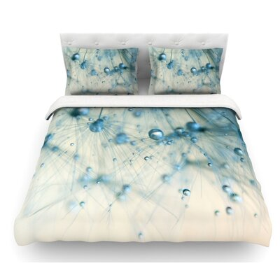 Pearls by Ingrid Beddoes Featherweight Duvet Cover Size: King
