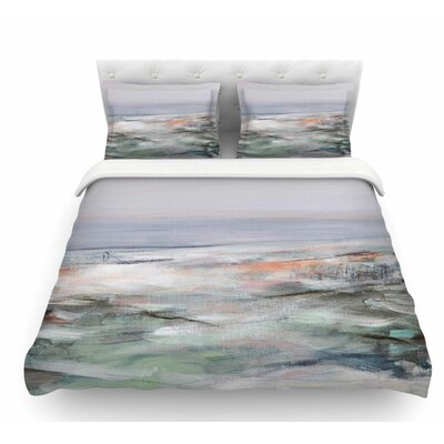 Coastal Scenery by Iris Lehnhardt Pastel Abstract Featherweight Duvet Cover Size: Twin