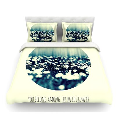 You Belong by Ingrid Beddoes Circle Featherweight Duvet Cover Size: King