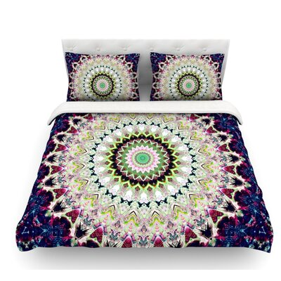 Summer of Folklore by Iris Lehnhardt Featherweight Duvet Cover Size: King