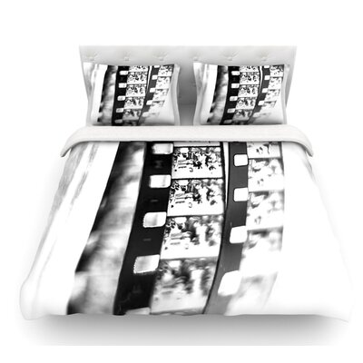 Memories by Ingrid Beddoes Filmstrip Featherweight Duvet Cover Size: Twin
