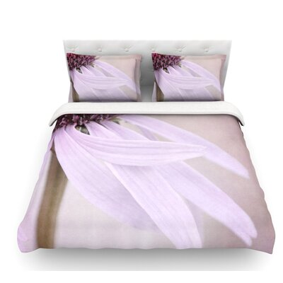 Windswept by Iris Lehnhardt Floral Featherweight Duvet Cover Size: King, Fabric: Lightweight Polyester