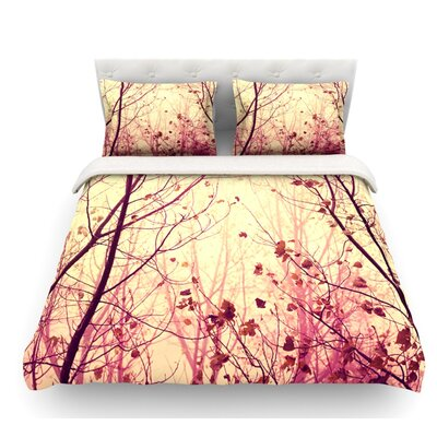 My Secret Garden by Ingrid Beddoes Featherweight Duvet Cover Size: King