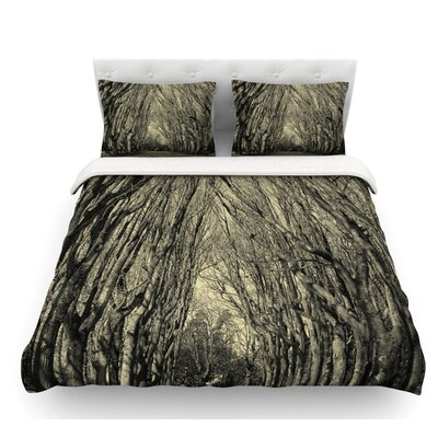 Where Trees Still Whisper by Ingrid Beddoes Featherweight Duvet Cover Size: Twin, Fabric: Lightweight Polyester