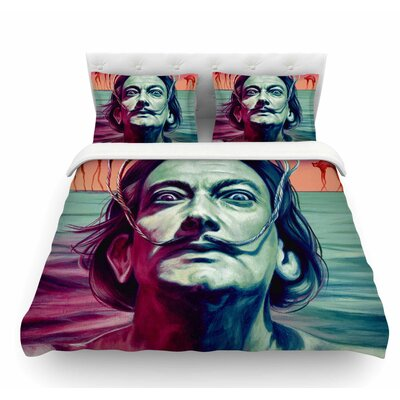Babou by Jared Yamahata Illustration Featherweight Duvet Cover Size: King
