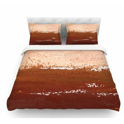 Cinnamon Chai by Iris Lehnhardt Featherweight Duvet Cover Size: Twin