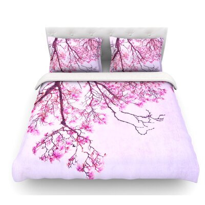 Magnolia Trees by Iris Lehnhardt Branches Featherweight Duvet Cover Size: Queen