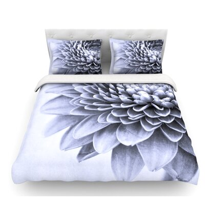 A Flower by Iris Lehnhardt Petals Featherweight Duvet Cover Size: Queen, Fabric: Woven Polyester